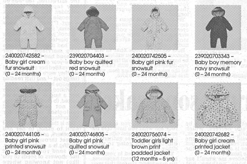 Baker snowsuits recall